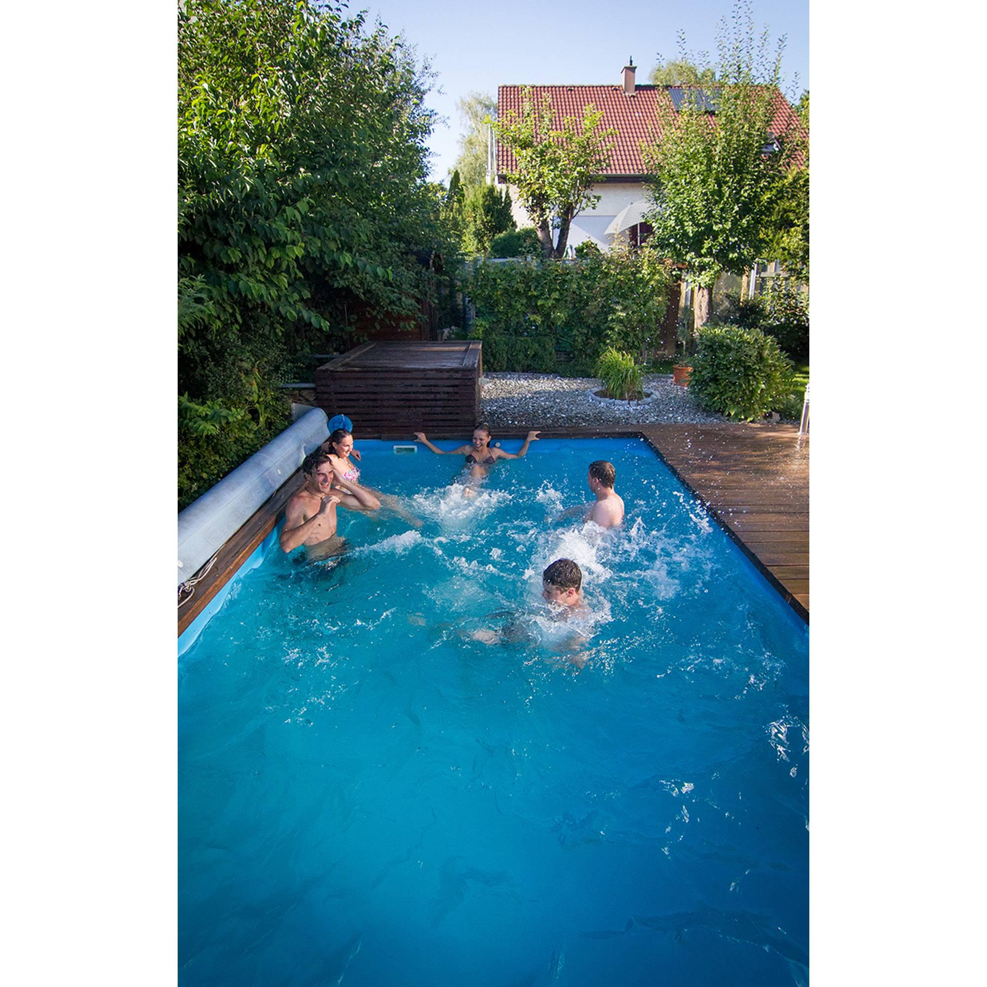 Pool ersatzfolie versch gr en einh ngebiese blau 0 for Hersteller poolfolien
